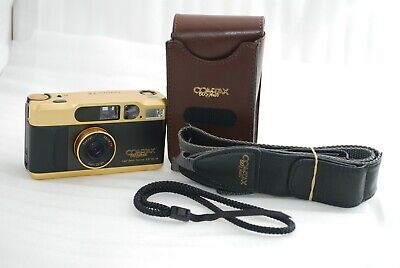 $ CDN2301.57 • Buy  RARE TOP Mint In Box  Contax T2 Gold 60 Years Anniversary Limited  #4207