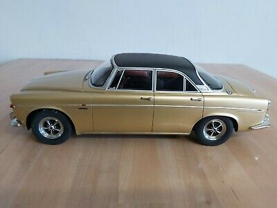 Best Of Show (BOS) Rover P5B Coupe 1971 Gold  1:18 197836 • 74£