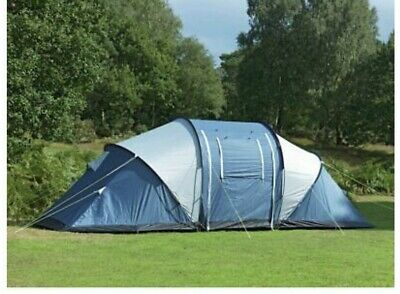 6 Person Tent Colour Is Green & Orange Library Photos Used This Model Has Window • 56£