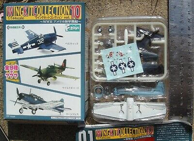 AU52.37 • Buy F-Toys 1:144 Wing Kit 10 F6F F6F-3 Hellcat USN VF-27 White 17 Cat Mouth 1SP