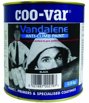 £27.40 • Buy Coo-Var Anti Climb Paint | 1L Black | Protects From Intruders