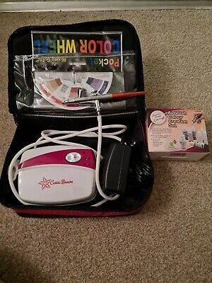 Cassie Brown Cake Airbrush And Compressor Kit And Carry Bag  • 90£