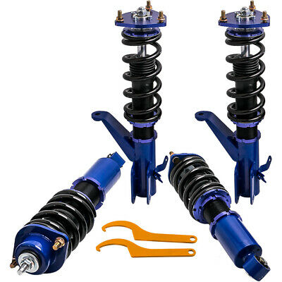 $393.99 • Buy 4x Adjustable Height Coilovers Suspension Kits For Honda Civic 01-05 Front Rear