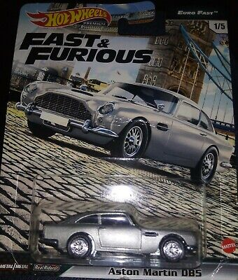 AU7.50 • Buy Hot Wheels Premium 2020 Fast And Furious (1/5 Euro Fast) Aston Martin DB5 - New