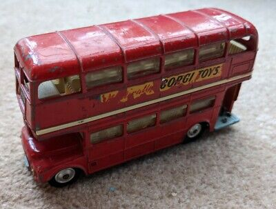 $ CDN6.89 • Buy Corgi Toys London Transport Routemaster Model Toy Red Double Decker Bus.