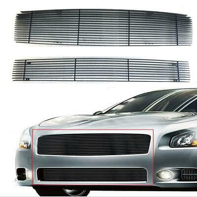 $67.99 • Buy Horizontal Billet Grille Insert Combo  2004/2005/2006 Fit Nissan Maxima Black
