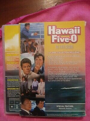 AU5.90 • Buy Hawaii Five-0, The Complete Fifth Season (Jack Lord) 6-DVD Set