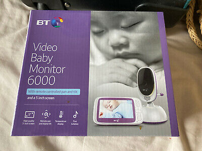 View Details BT 088306 Video Baby Monitor 6000 • 75.00£