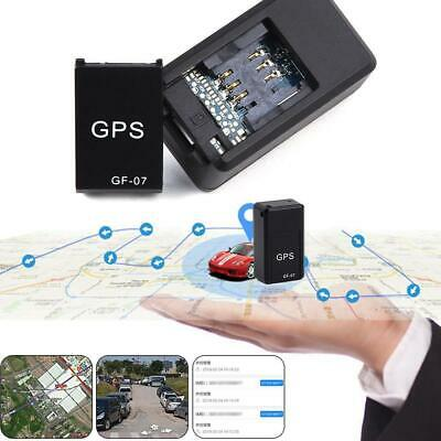 AU13.51 • Buy GF07 Mini Car Magnetic GPS Real Time Recording Tracking Device Locator New