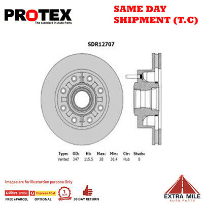 AU815.44 • Buy Protex Front Rotor Pair For FORD F250/F350 5.4L/7.3L 2001 - 2007