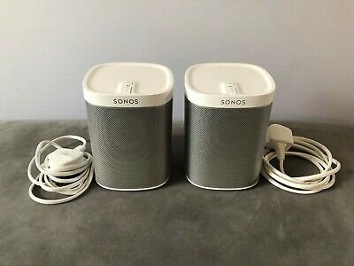 AU360.64 • Buy Sonos Play:1 Smart Wireless Speaker - White - Stereo Pair