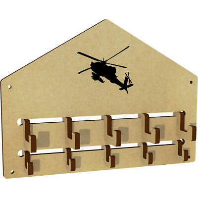 $9.72 • Buy 'Military Helicopter' Wall Mounted Coat Hooks / Rack (WH00040150)