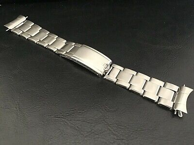 $ CDN3106.99 • Buy Vintage Rolex 20 Mm S/S Oyster Expandable Riveted Band Bracelet Pre-6636 End 80