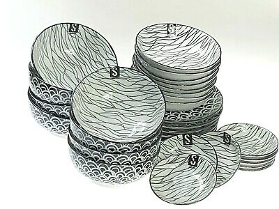 AU79.90 • Buy Dinner Serving Set Of 32 Pieces Lovely Colours & Design Scratch & Dent Clearance