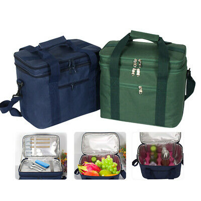 AU27.96 • Buy Small Insulated Cool Cooler Lunch Bag Thermos Picnic Box Camping Food Storage