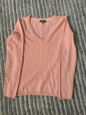 N Peal Xs Pink Cashmere Jumper  • 29.99£