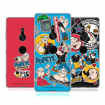 AU26.74 • Buy Official Popeye Collage Soft Gel Case For Sony Phones 1