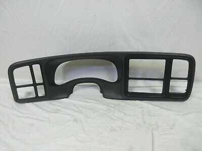 $74.95 • Buy 03-06 Chevy Silverado Dash Bezel DK PEWTER (DARK GRAY)