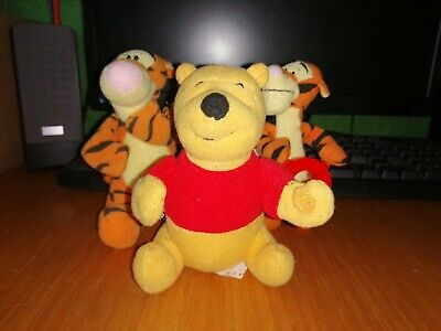 Winnie The Pooh And 2 Tigger. Puppets/plush Toys Teddy's Kids Toys Toddlers • 1.99£
