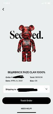 $700 • Buy XL Bear Brick X FaZe Clan 1000% — IN HAND READY TO SHIP NOW-