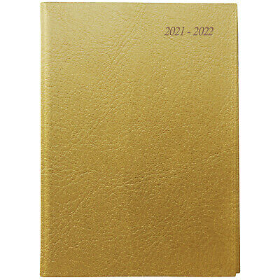 AU25.99 • Buy 2021-2022 Financial Year Diary Cumberland Soho Wiro A5 Day To Page Gold 51SFYSH