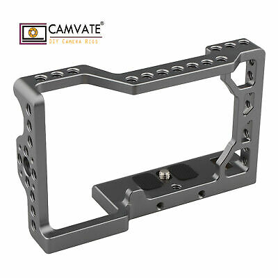 $ CDN25.05 • Buy CAMVATE Sony A6500 Camera Cage W/ 1/4 -20 Threaded Hole For Accessories Mounting
