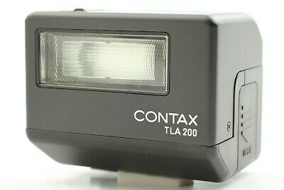 $ CDN337.43 • Buy [ MINT ] Contax TLA200 Black Shoe Mount Flash For G1 G2 From Japan