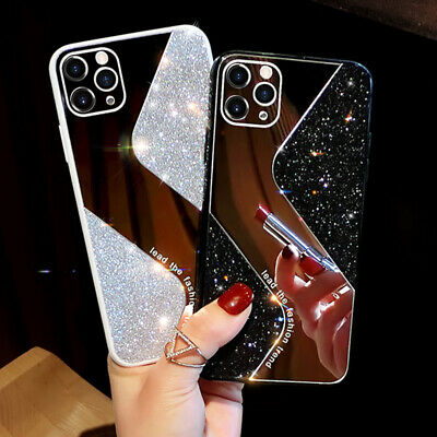 AU13.24 • Buy For IPhone 12 11 Pro XS Max XR 7 8 Girl's Mirror Gradient Sparkle Diamond Case