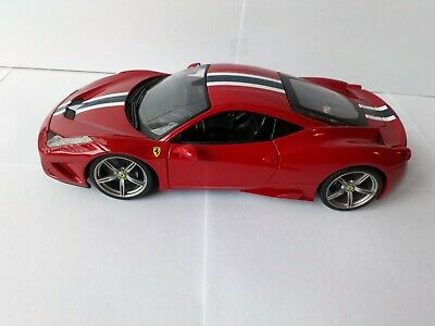 Maisto 1:18 Scale FERRARI 458 SPECIALE Diecast Model Car • 35£