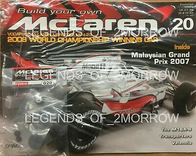 £15 • Buy Deagostini Build Your Own Mclaren Mp4-23 Lewis Hamilton Issue 20 - New & Sealed