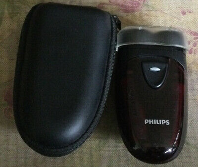 Philips Men's Electric Cordless Travel Shaver PQ203 With Travel Pouch • 3.60£