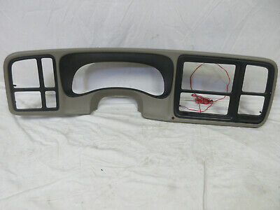 $74.95 • Buy 03-06 Chevy Silverado Dash Bezel BROWN/TAN
