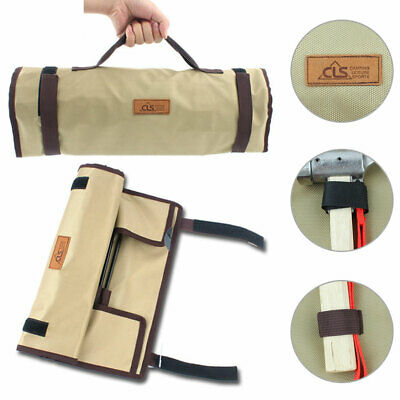 AU27.96 • Buy Outdoor Camping Tent Peg Nail Storage Case Hammer Tool Tote Bag