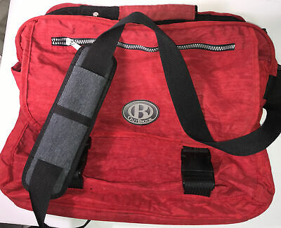 $10.26 • Buy Outbrook Tote Bag Red Outdoor Hiking Cross Body Laptop Top Flap Zipper