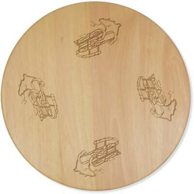 £24.99 • Buy 'Wooden Sled' Lazy Susan Rotating Turntable (LA00007580)