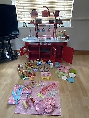 £50 • Buy Early Learning Centre Wooden Kitchen Diner Includes Everything Shown
