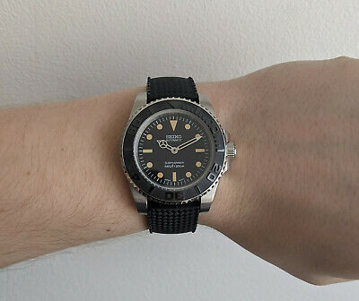 $ CDN319.78 • Buy Seiko Diver MOD Automatic With Tropic Diving Strap