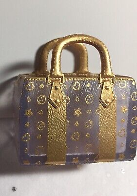 $ CDN25 • Buy Rare Luxe Vuitton-ish LOL Surprise DOLL Gold Handbag Tote Purse Barbie 1:6 Scale