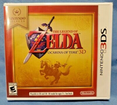 AU32.77 • Buy Nintendo 3DS: The Legend Of Zelda Ocarina Of Time 3D Factory Sealed IOB New