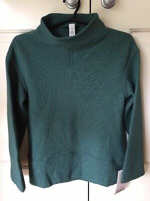 AU79 • Buy Lululemon On Repeat Mock Neck Sweater - Size CAN 6/ AUS 10 - BNWT