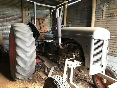 "AU3450 • Buy Vintage Ferguson TE20 ""Little Grey Fergie"" Tractor"