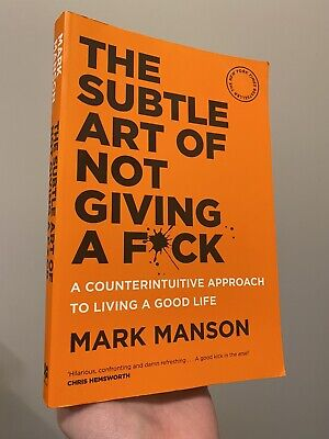 AU13.99 • Buy The Subtle Art Of Not Giving A F*ck: A Counterintuitive Approach To Living A...