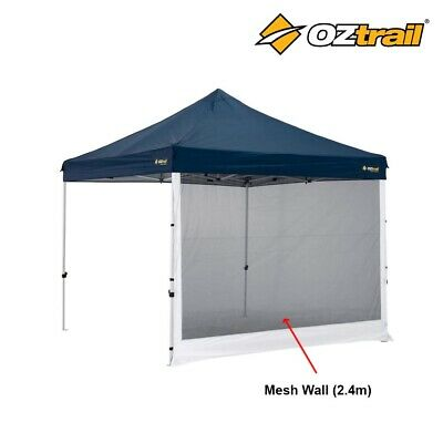 AU39.95 • Buy Oztrail 2.4m Deluxe Gazebo Mesh Wall Side Panel Insect Mosquito Net