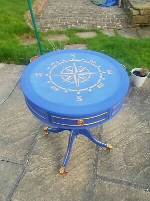Upcycled Drum Table With Storage  • 72£