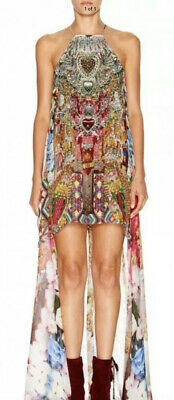 AU299 • Buy Camilla Franks Altering Perception Mini Dress With Long Overlay Size 3 Brand New