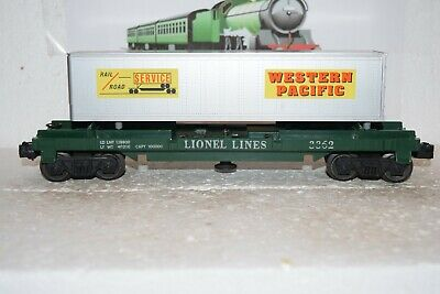 AU15.46 • Buy O Scale Trains Lionel Lines Logging Car 3362 W/WP Shipping Container