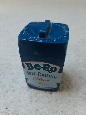 Vintage Be-Ro Oven Timer - Good Working Order - 1970s - Food Advertising • 9.99£