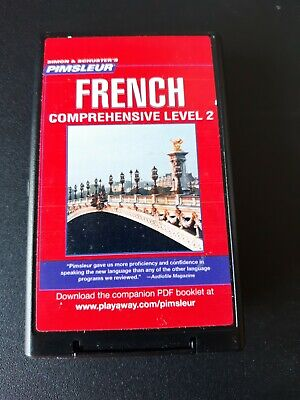 £17.70 • Buy Pimsleur French Level 2 Comprehensive Playaway Format