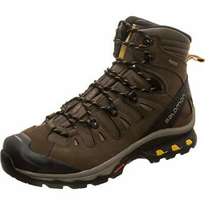 AU399.26 • Buy Salomon Men's Quest 4D 3 GTX Backpacking Boots Wren/Bungee Cord/Green Sulphur 7