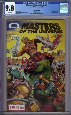 $249.95 • Buy Masters Of The Universe 1 Cgc 9.8 Gold Foil Variant Invincible Preview!